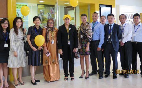 Maybank's first Short Term Visiting Program in Kuala Lumpur
