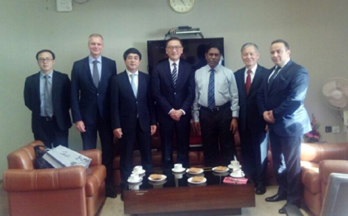 ABA officers meet with Governor of the Reserve Bank of India