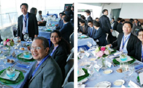 CTBC Bank hosts lunch for Taiwanese delegates to ADB Yokohama Meeting