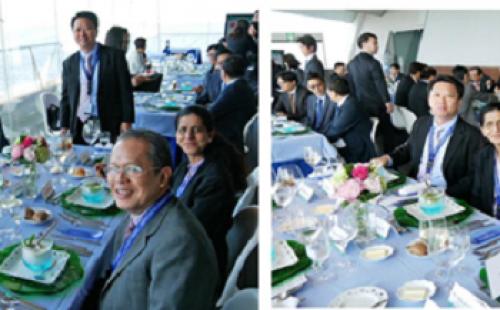 CTBC Bank hosts lunch for Taiwanese delegates to ADB Yokohama Meeting