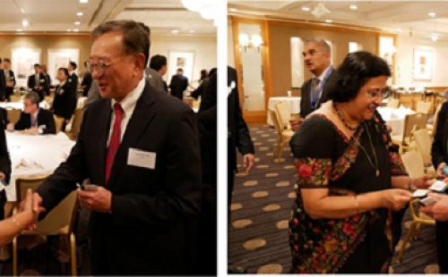 SBI Chairperson hosts dinner reception for CTBC officers