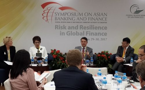 ABA attends Symposium on Risk & Resilience in Global Finance