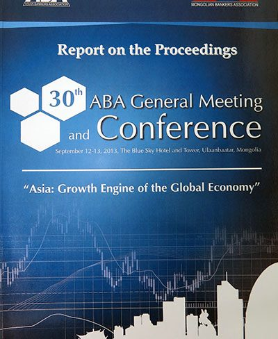 30th ABA Conference in Ulaanbaatar