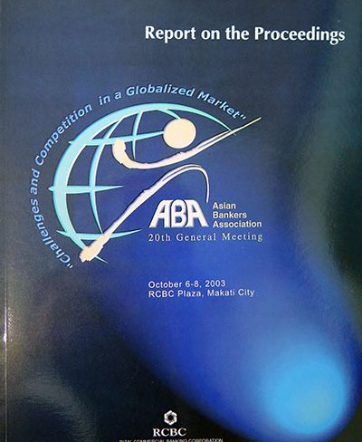 20th ABA Conference in Manila