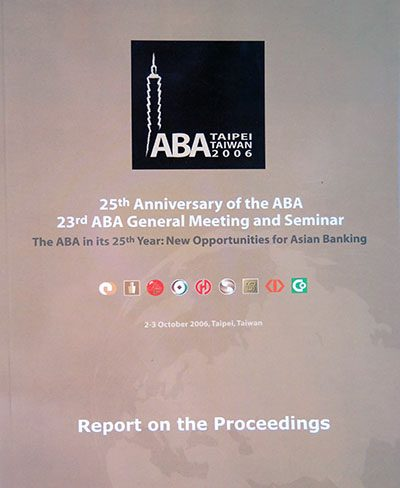 23rd ABA Conference in Taipei