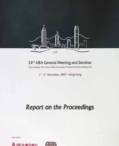 24th ABA Conference in Hong Kong