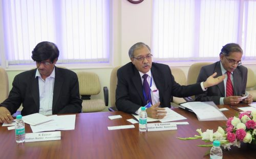 ABA officers visit Indian Banks Association