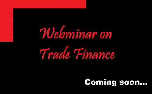 Webinar on Trade Finance