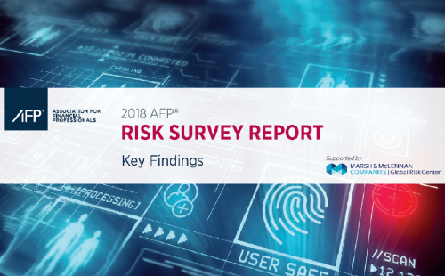 REPORT: 2018 AFP Risk Survey