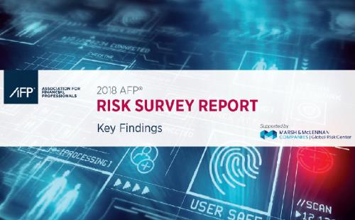 REPORT: 2018 AFP Risk Survey