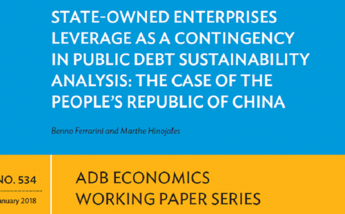 State-Owned Enterprises Leverage: The Case of the People's Republic of China