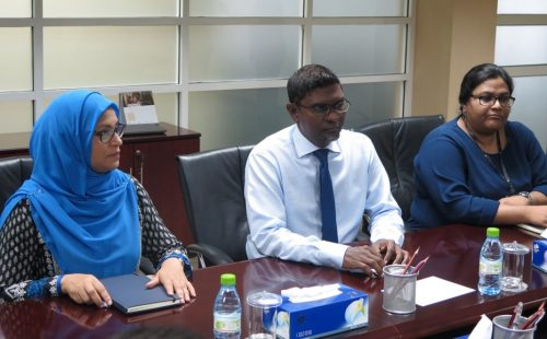 ABA Delegation meets with Maldives' Central Bank Governor & Finance Minister