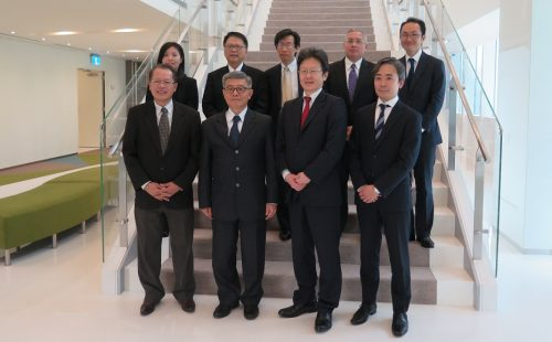Japanese Bankers Association Officers Visit ABA Secretariat in Taipei