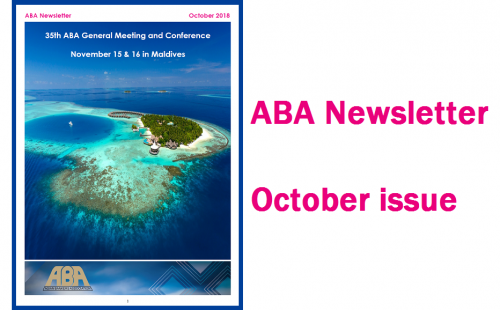 ABA Newsletter's October issue is out