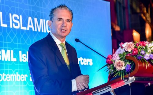 Welcome message from Andrew Healy, CEO of Bank of Maldives