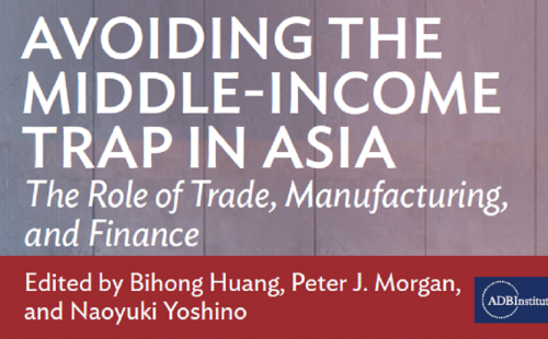 Avoiding the Middle-Income Trap in Asia: ADB Report available