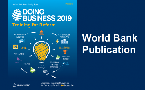 Doing Business 2019: World Bank's publication