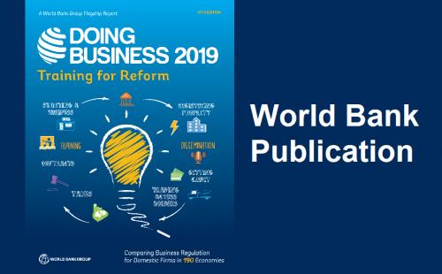 Doing Business 2019: World Bank's publication
