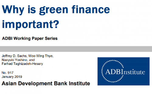 Why Is Green Finance Important?