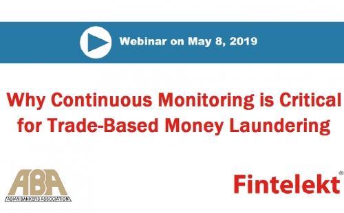 Trade-based money laundering webinar on May 8 – Register