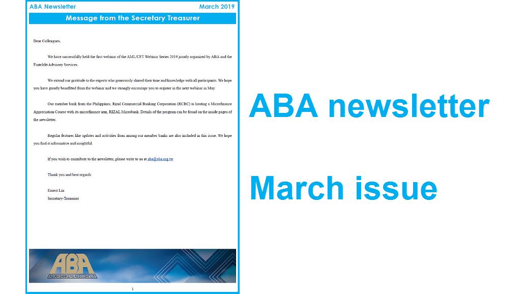 2019 0315 ABA newsletter 1028 x 578