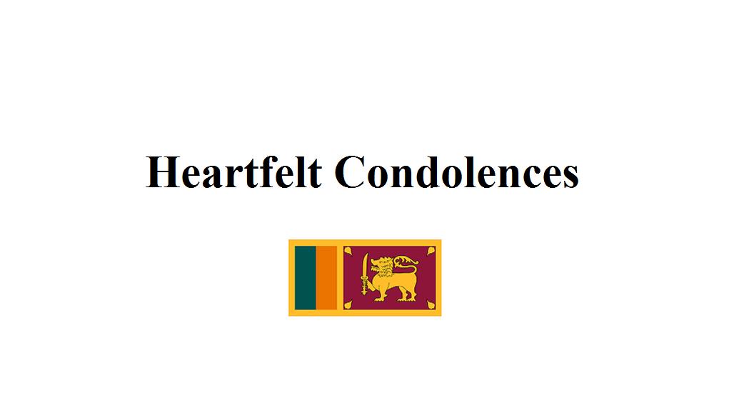 2019 0422 Flag Sri Lanka Banner 1028 x 578