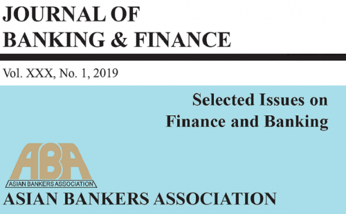 ABA Journal of Banking and Finance, volume XXX available