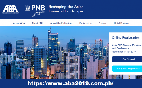 36th ABA Conference's online registration is ready