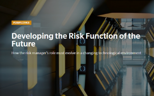Developing the risk function of the future
