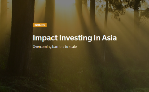 Impact Investing In Asia