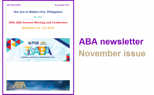 ABA newsletter – November issue available