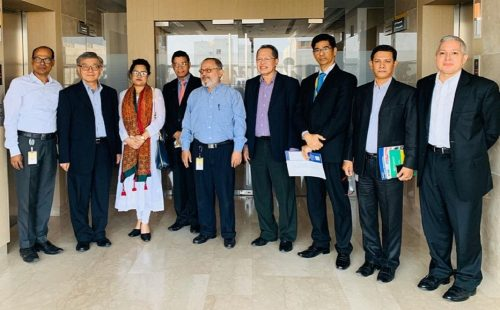 ABA Secretary-Treasurer visits AACOBB in Dhaka