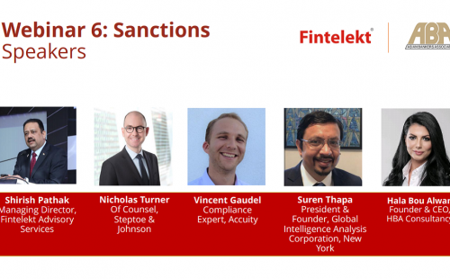 "Record-breaking 6th webinar on ""Sanctions"" held on May 6, 2020"