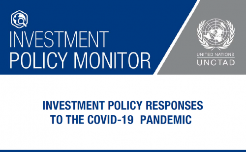 Special Issue of UNCTAD's Investment Policy Monitor during COVID-19