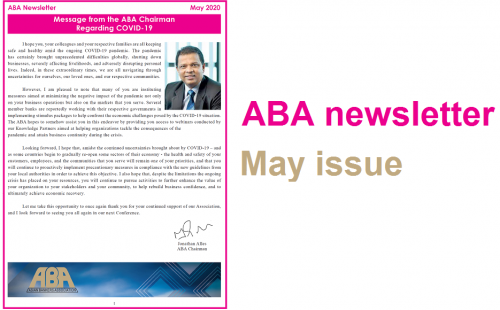 ABA newsletter – May issue available