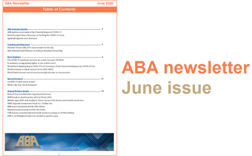 ABA newsletter – June issue
