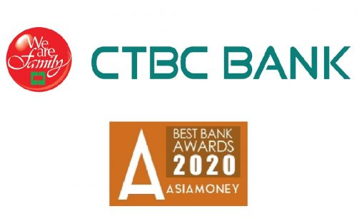 CTBC named Taiwan's Best Domestic, Corporate and Investment Bank