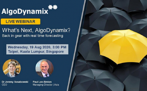 AlgoDynamix webinar on Real time forecasting
