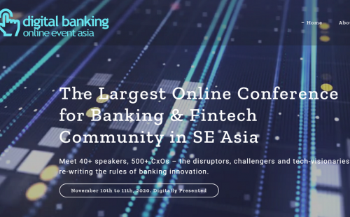 """Digital Banking Asia Webinar"" on November 10-11, 2020"