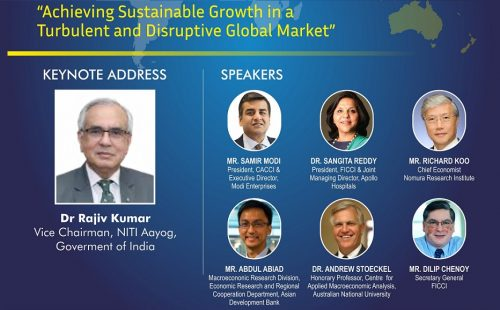 "Invitation to Virtual 34th CACCI Conference on ""Achieving Sustainable Growth in a Turbulent and Disruptive Global Market"""
