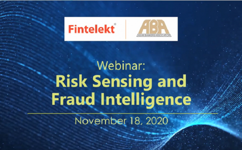 ABA Fintelekt webinar on Risk Sensing and Fraud Intelligence is well received