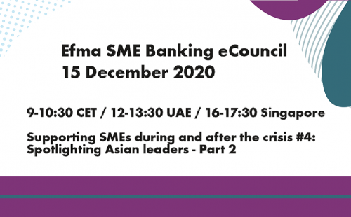 Efma SME Banking eCouncil on 15 December 2020