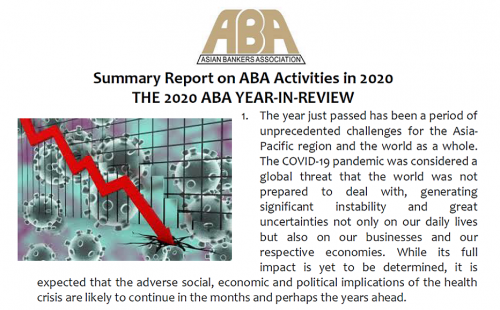 ABA Year End Review available
