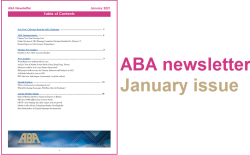 ABA newsletter – January issue