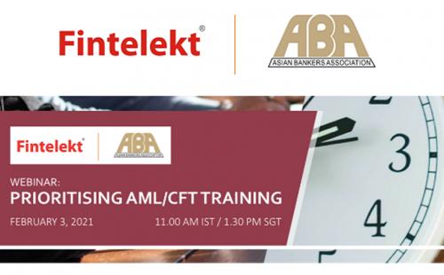 """""""Prioritising AML/CFT Training"""" webinar on 3 February 2021 – Register now"""