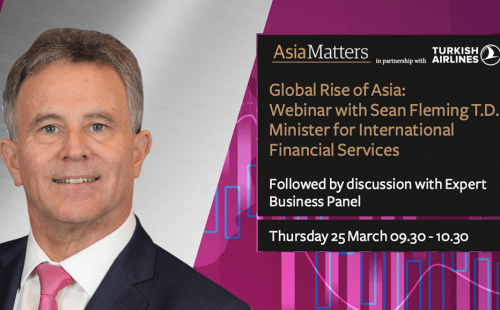 Asia Matters' Webinar with Minister Fleming