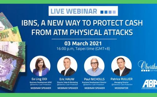 Successful webinar on Protecting ATMs from Physical Attacks