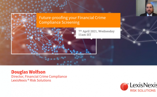 Webinar on Future-proofing Financial Crime Compliance draws over 600 participants