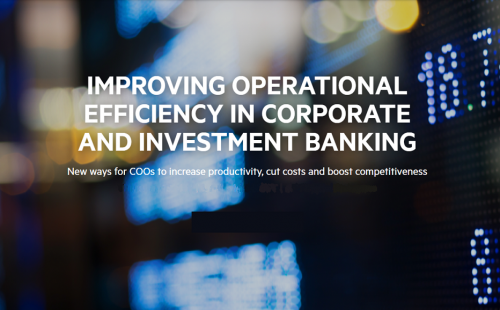 "FT webinar on ""Efficiency in Corporate & Investment Banking"""