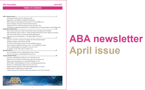 ABA newsletter – April issue